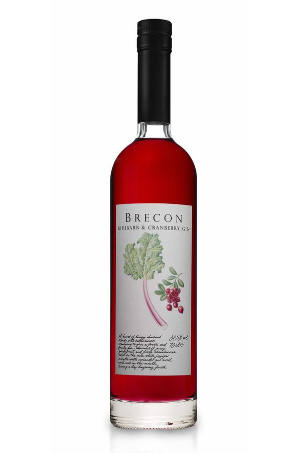 Brecon Rhubarb & Cranberry Gin - Cheers Wine Merchants