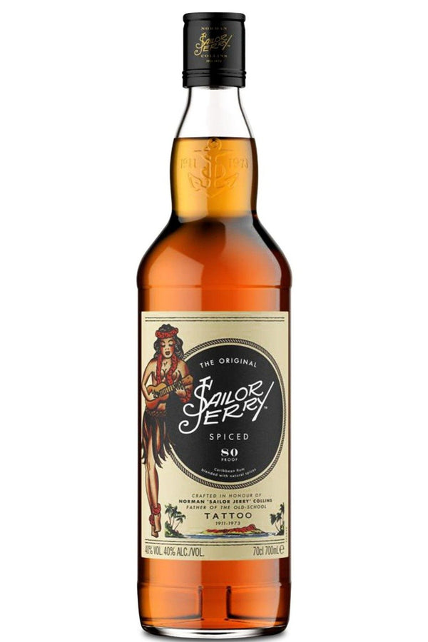 Sailor Jerry Spiced Rum - Cheers Wine Merchants