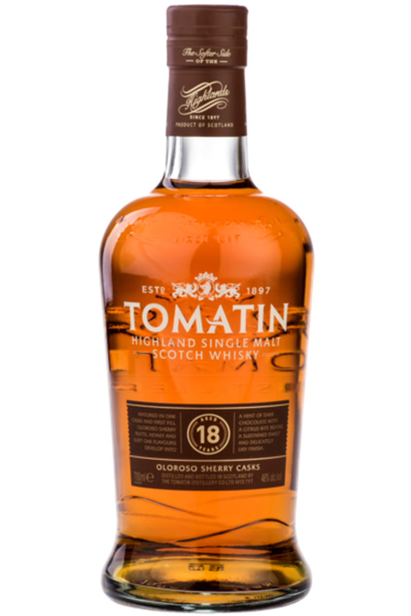 Tomatin 18 Year Old - Cheers Wine Merchants