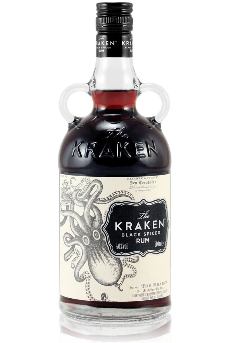 The Kraken Black Spiced Rum - Cheers Wine Merchants