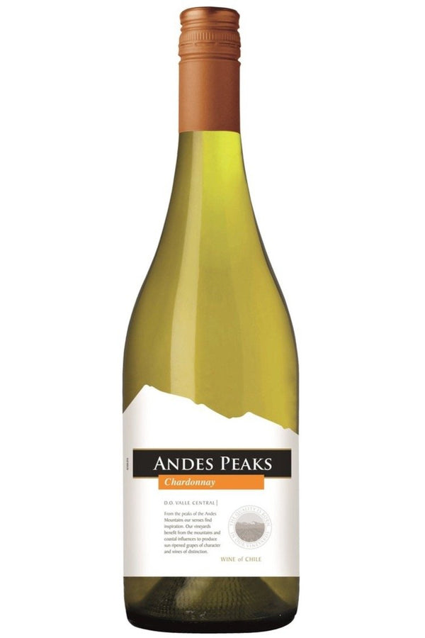Andes Peaks Chardonnay - Cheers Wine Merchants