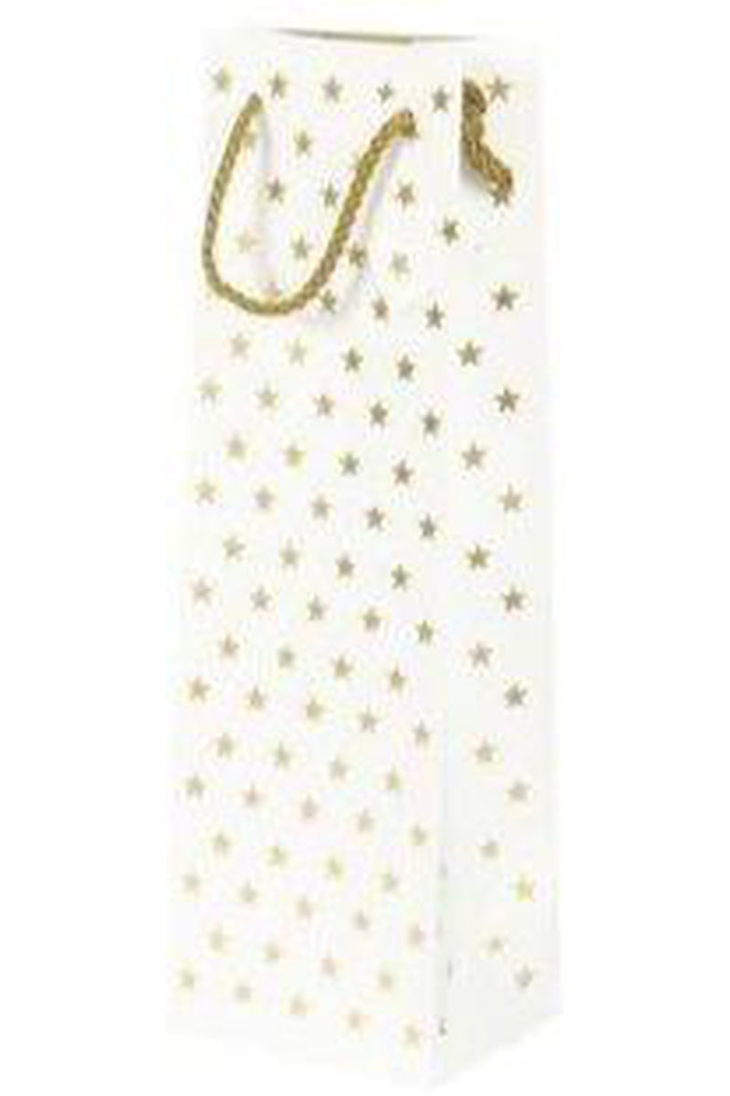 Gold Star Gift Bottle Bag