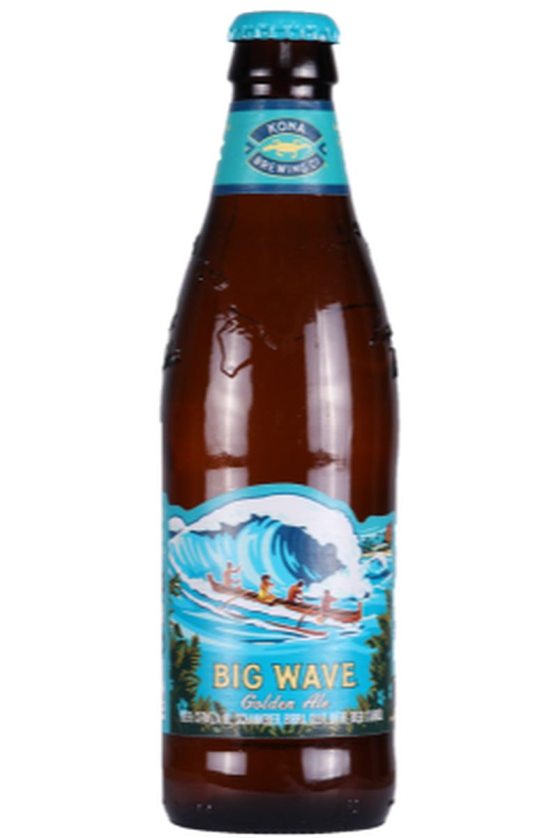 Kona Brewing Big Wave Golden Ale - Cheers Wine Merchants