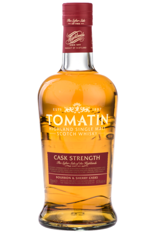 Tomatin Cask Strength - Cheers Wine Merchants