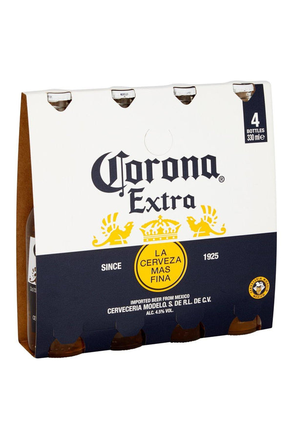 Corona Lager 4 pack - Cheers Wine Merchants