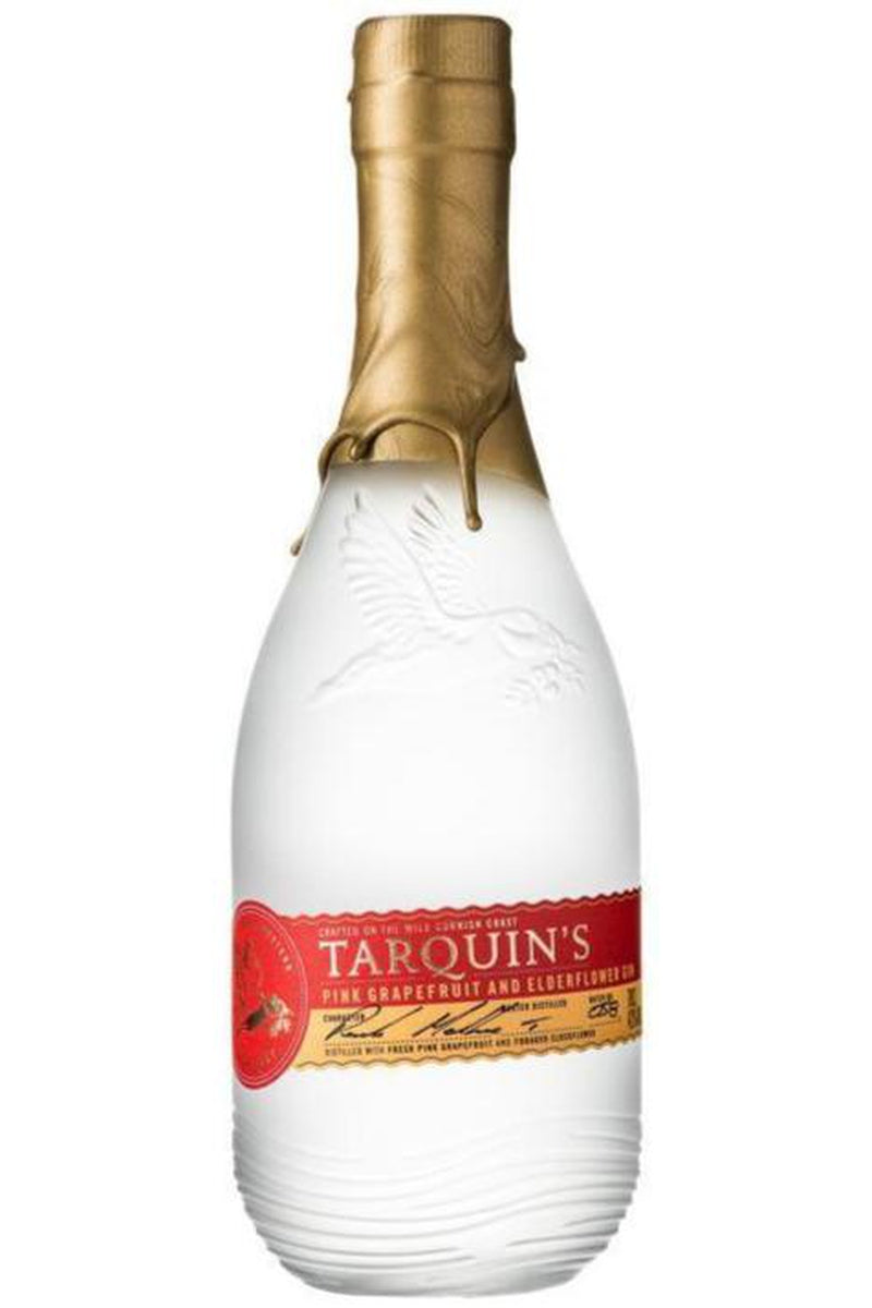 Tarquin's Elderflower and Pink Grapefruit Gin - Cheers Wine Merchants