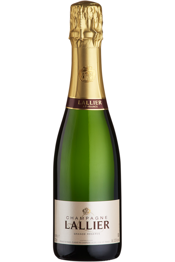 Champagne Lallier Grand Reserve Brut Half Bottle - Cheers Wine Merchants