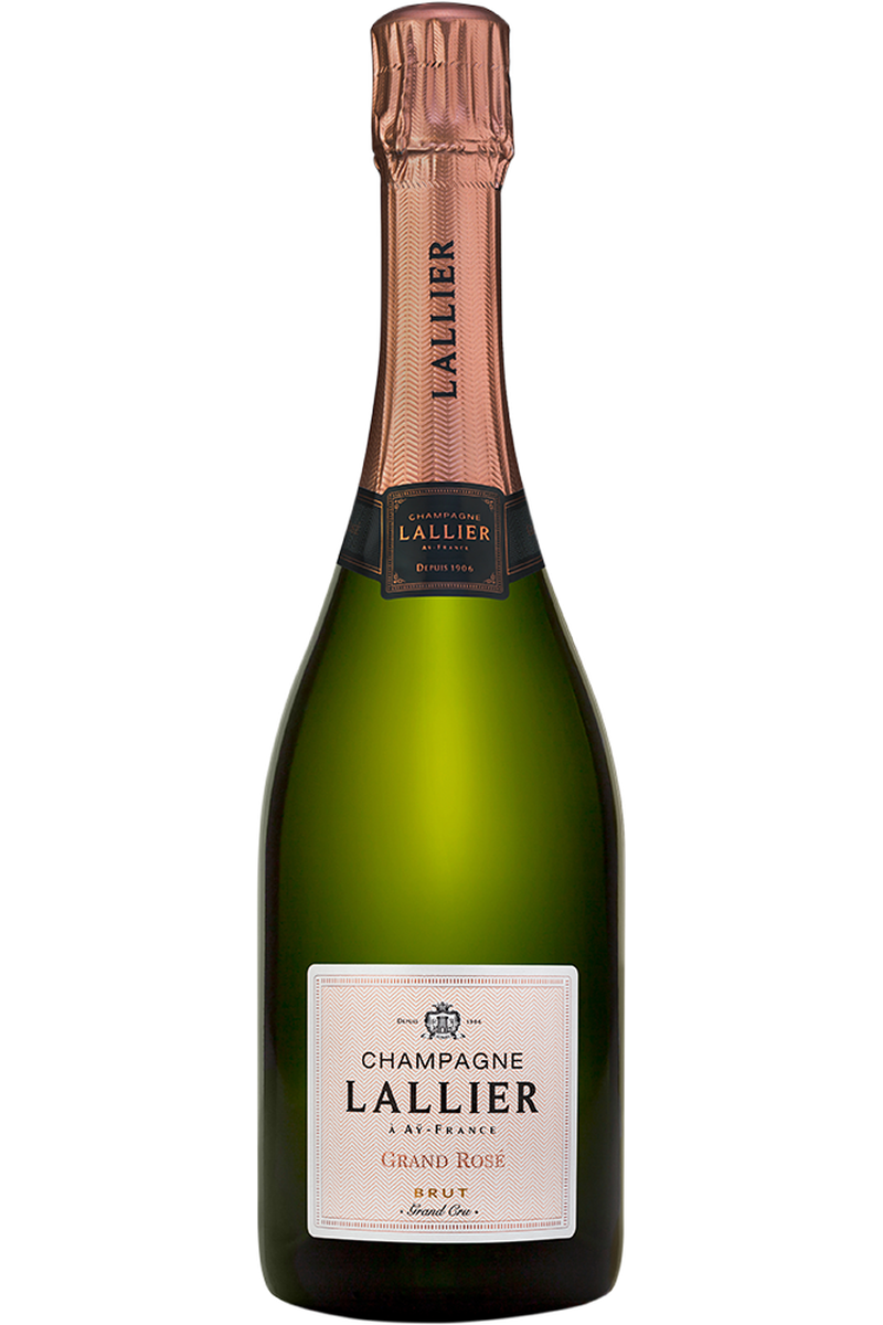 Champagne Lallier Grand Cru Rose Champagne - Cheers Wine Merchants