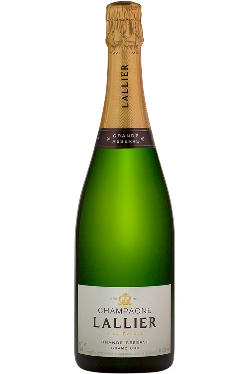 Champagne Lallier Grand Cru Grand Reserve - Cheers Wine Merchants