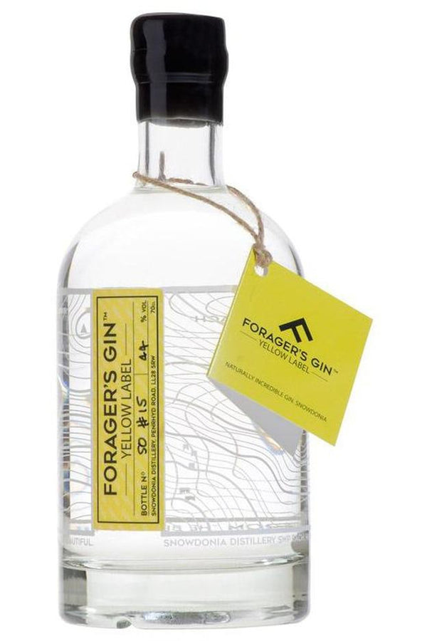 Forager's Gin Yellow Label Gin - Cheers Wine Merchants