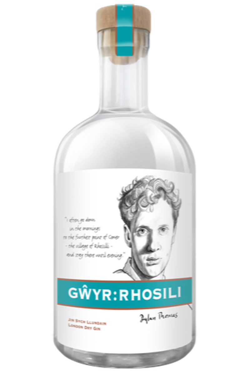 Gwyr Rhosili Dylan Thomas Gin - Cheers Wine Merchants