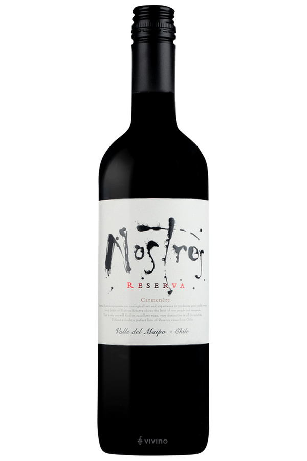 Nostros Reserva Carmenere - Cheers Wine Merchants