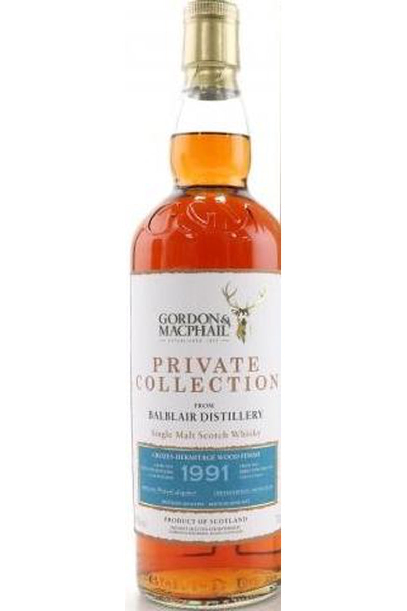 Balblair 1991 Gordon and MacPhail Private Collection - Cheers Wine Merchants