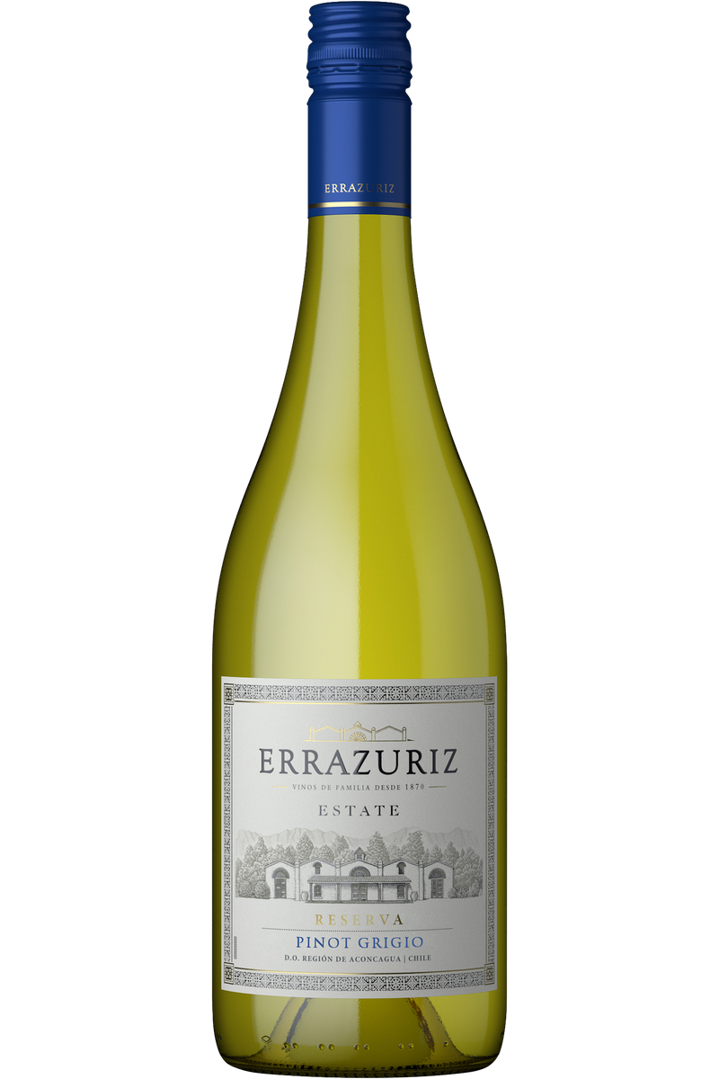 Errazuriz Estate Pinot Grigio - Cheers Wine Merchants