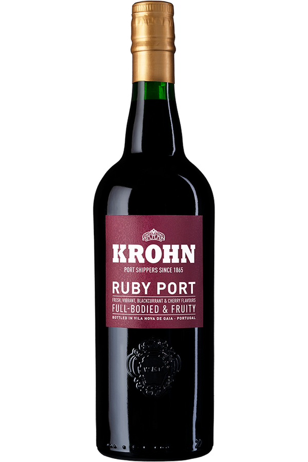 Krohn Ambassador Ruby Port - Cheers Wine Merchants