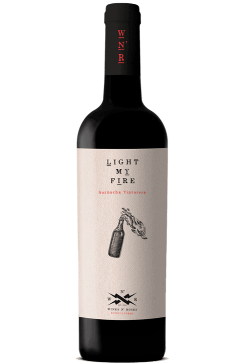 Light My Fire Garnacha Tintoera Wines n Roses