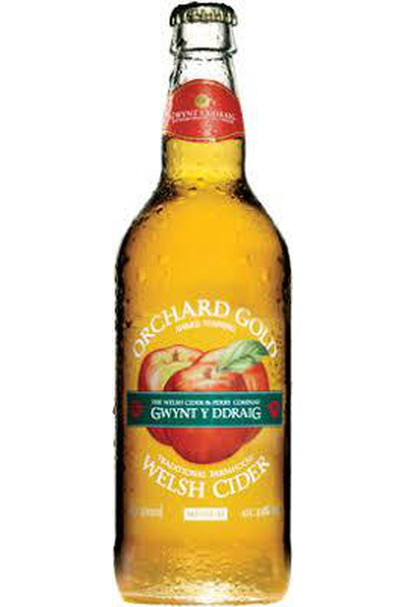 Gwynt Y Ddraig Orchard Gold Cider - Cheers Wine Merchants