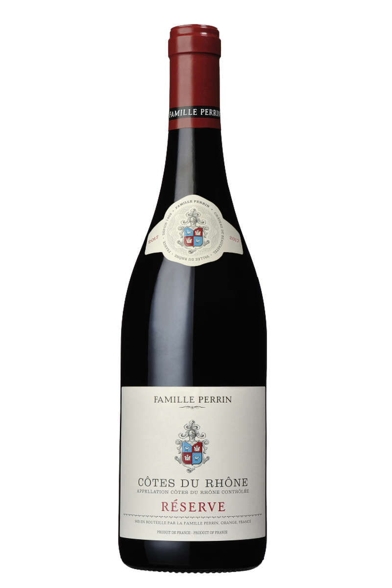 Famille Perrin Cotes du Rhone Reserve Rouge - Cheers Wine Merchants