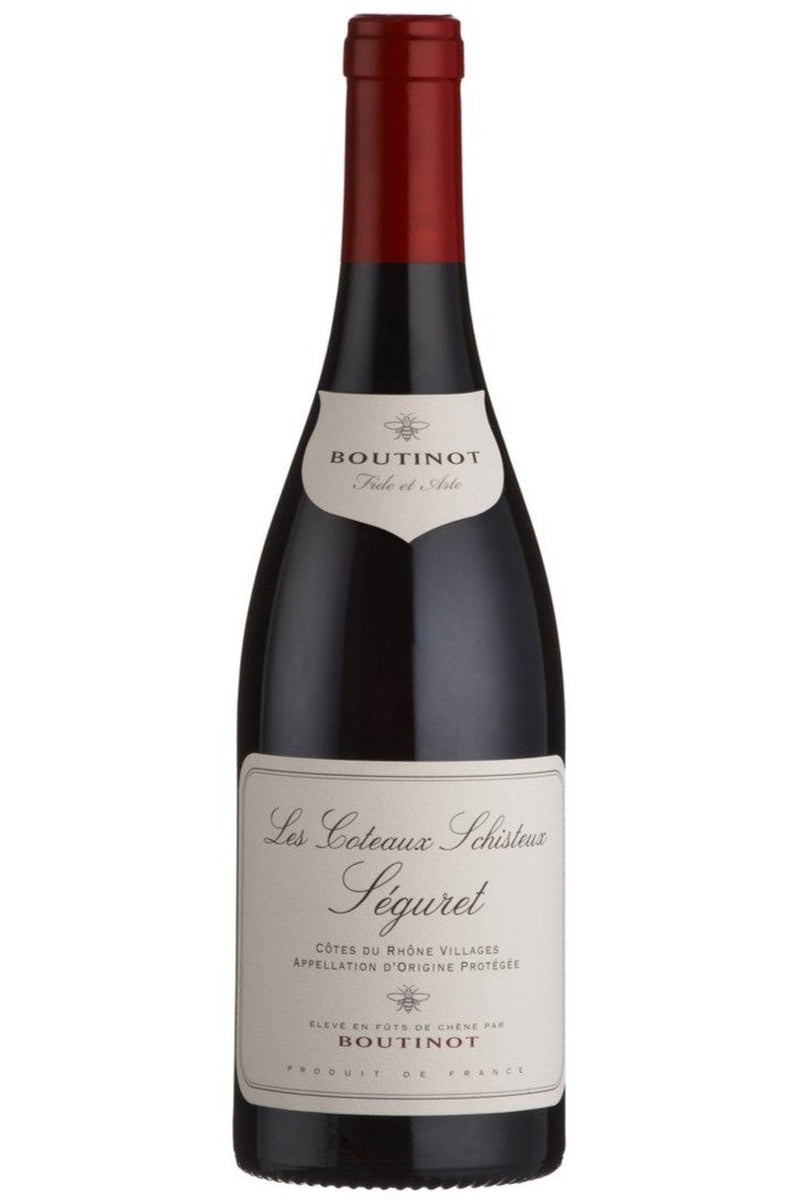 Boutinot 'Les Coteaux Schisteux' Seguret Cotes du Rhone Villages - Cheers Wine Merchants