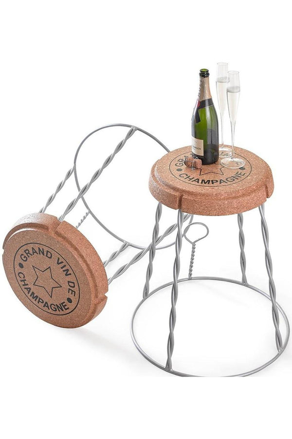 Giant Champagne Wire Cage 'Muselet' Champagne Cork