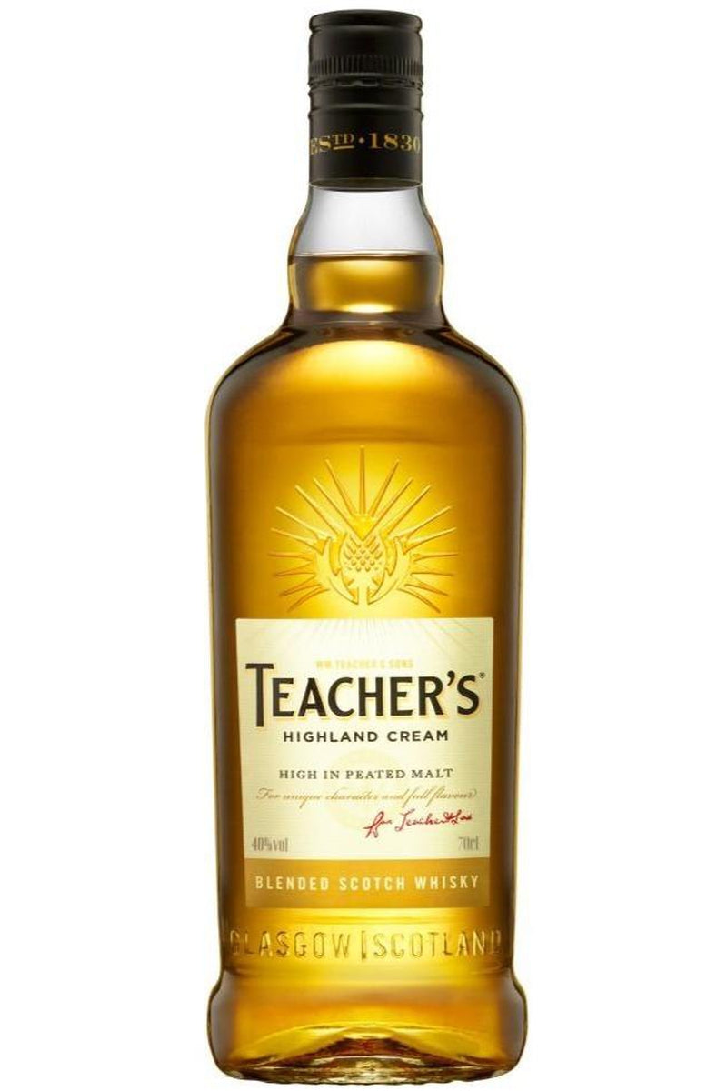 Teacher's Highland Cream Whisky - Cheers Wine Merchants