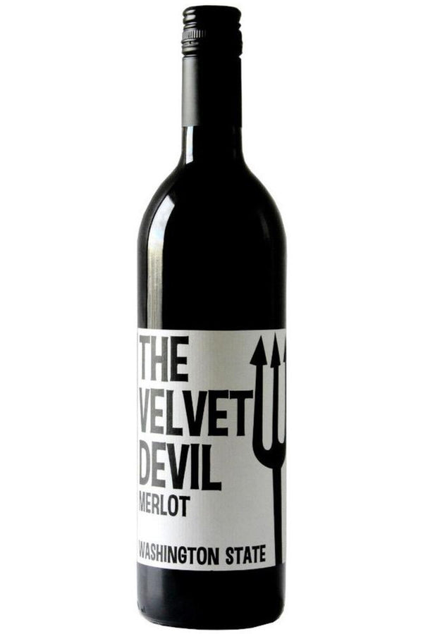 The Velvet Devil Merlot - Cheers Wine Merchants