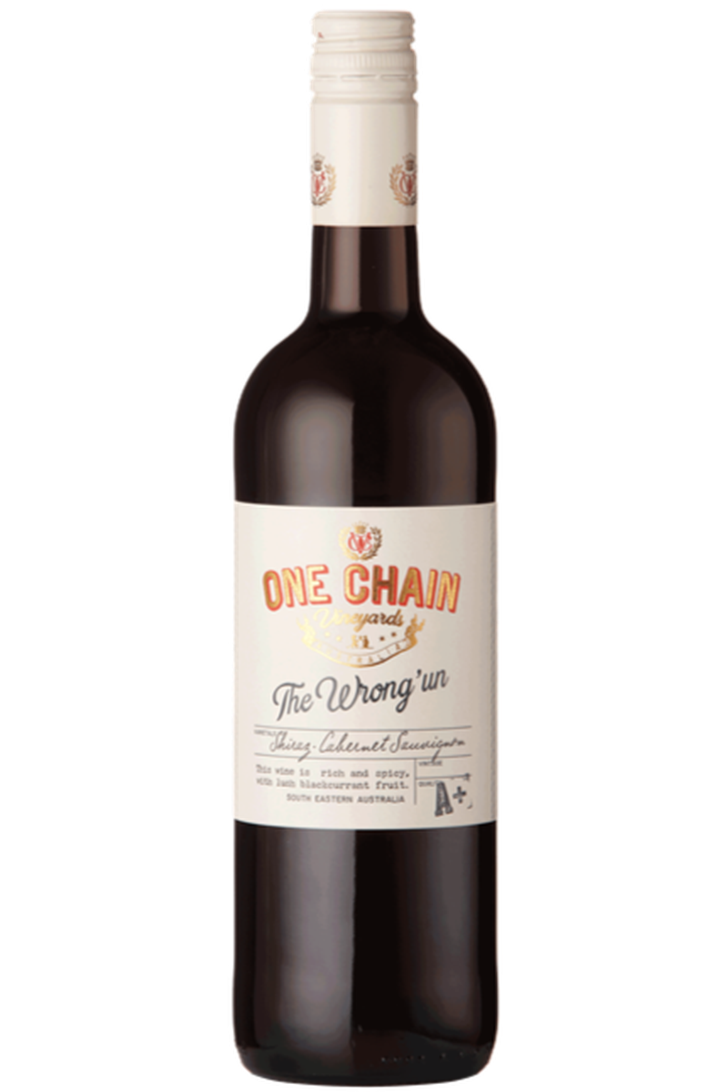 One Chain 'The Wrong Un' Shiraz Cabernet - Cheers Wine Merchants