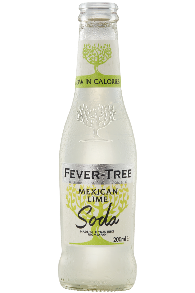 Fever Tree Mexican Lime Soda 200ml - Cheers Wine Merchants