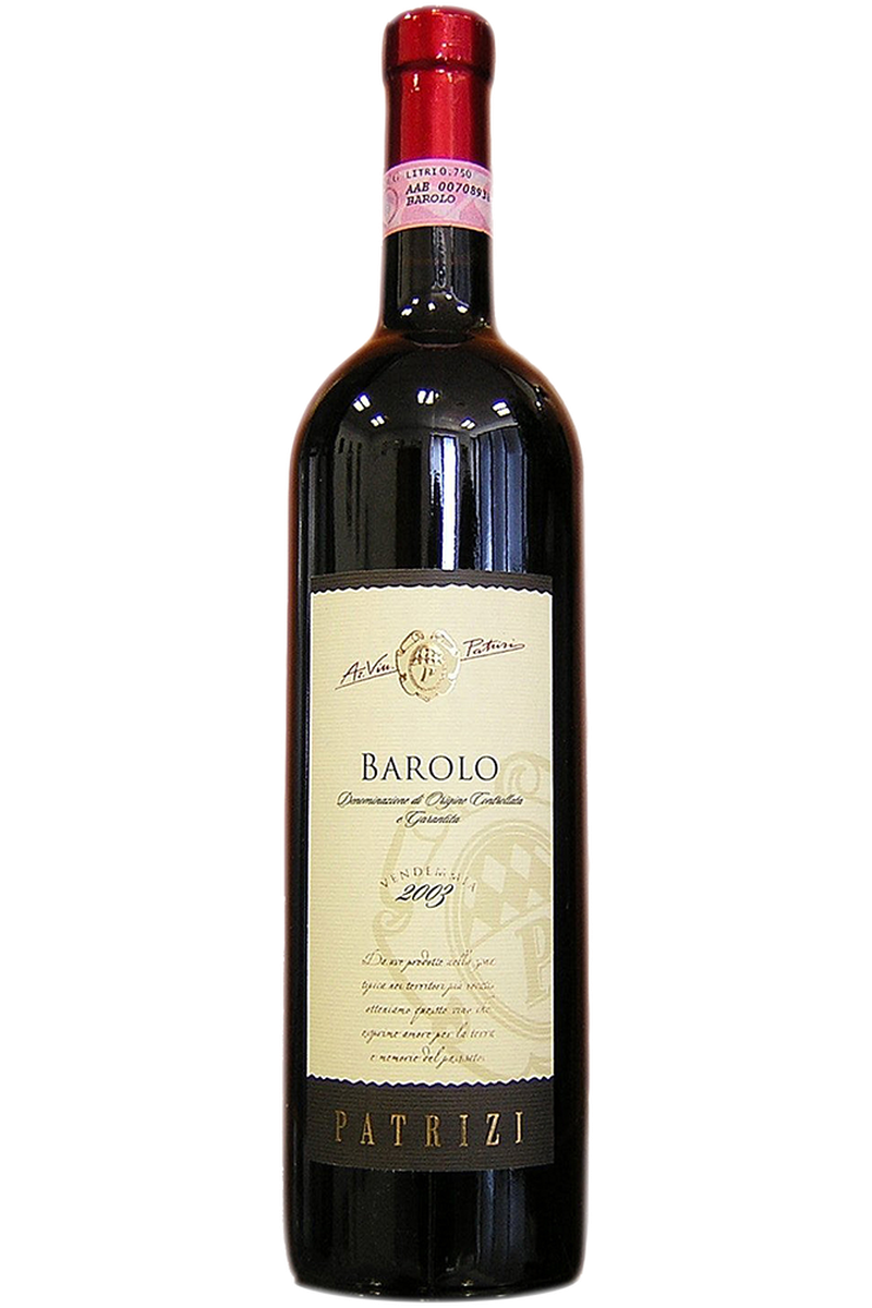 Patrizi Barolo - Cheers Wine Merchants