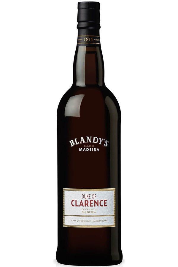 Blandy's Duke of Clarence Rich Madeira - Cheers Wine Merchants