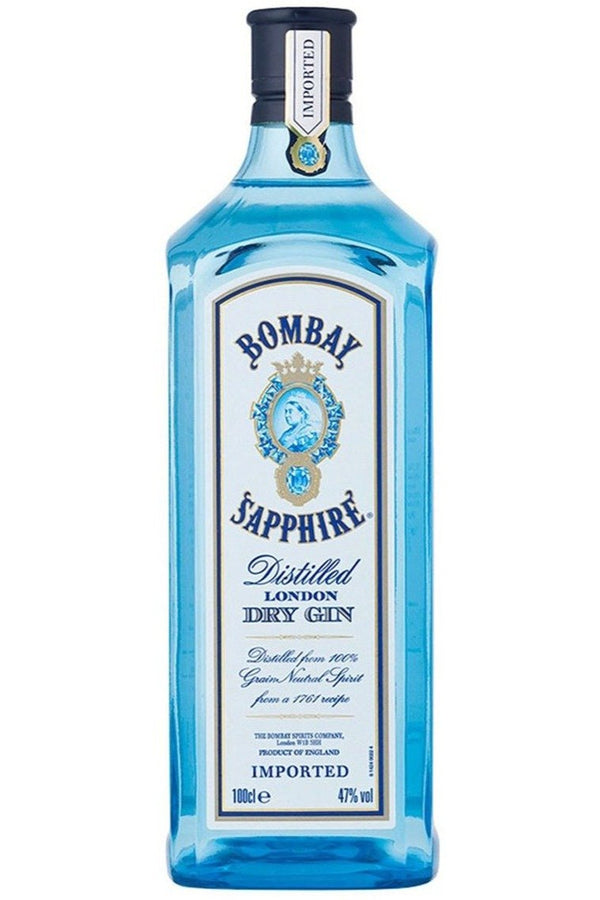 Bombay Sapphire London Dry Gin 1 Litre - Cheers Wine Merchants