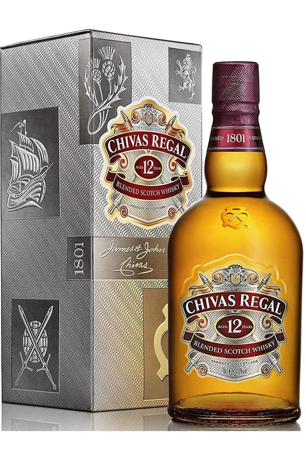Chivas Regal Aged 12 Years - Cheers Wine Merchants