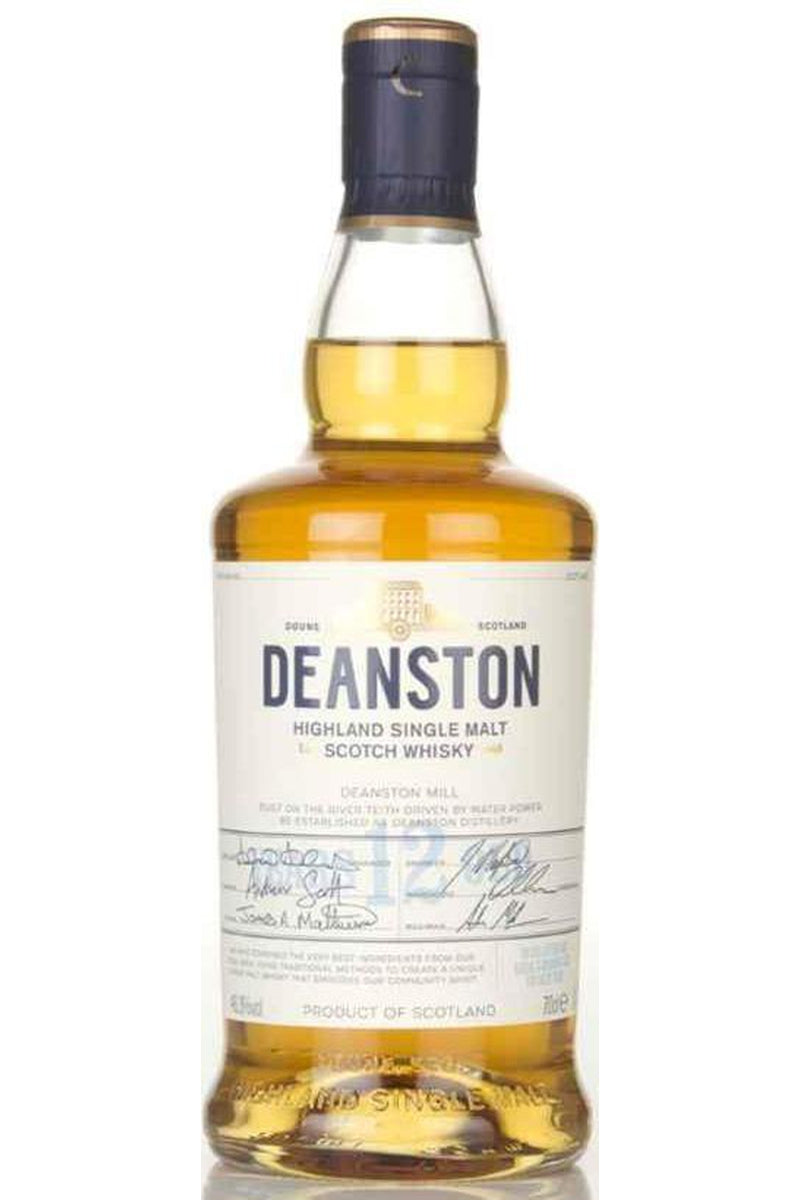 Deanston 12 Year Old - Cheers Wine Merchants