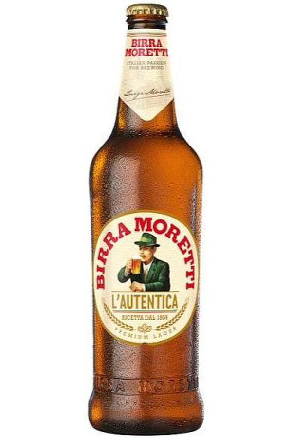 Birra Moretti Lager 660ml - Cheers Wine Merchants