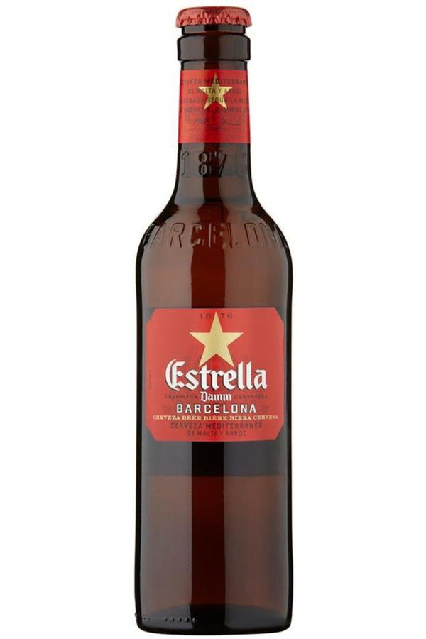 Estrella Damm 330ml - Cheers Wine Merchants