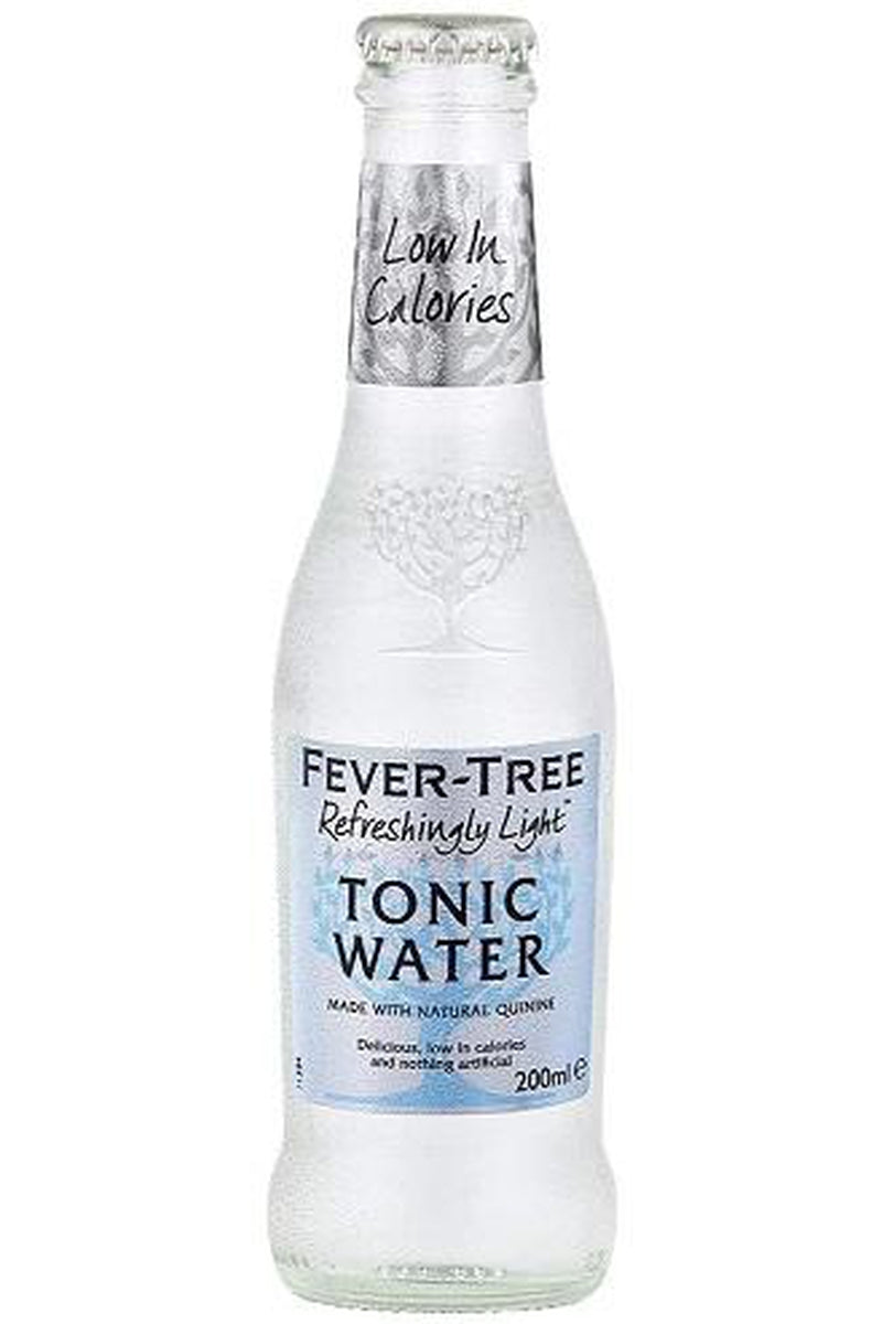 Fever Tree Refreshingly Light Indian Tonic Water 200ml - Cheers Wine Merchants