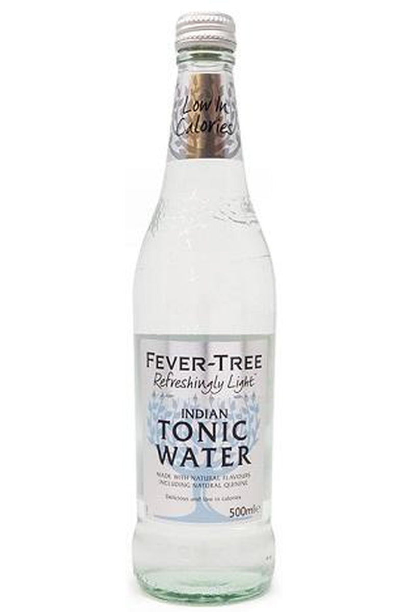 Fever Tree Refreshingly Light Indian Tonic Water 500ml - Cheers Wine Merchants