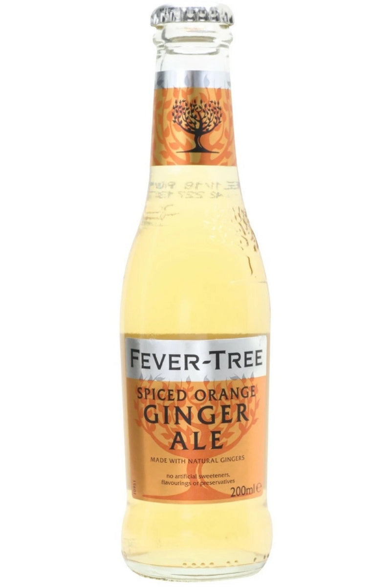 Fever Tree Spiced Orange Ginger Ale 200ml - Cheers Wine Merchants