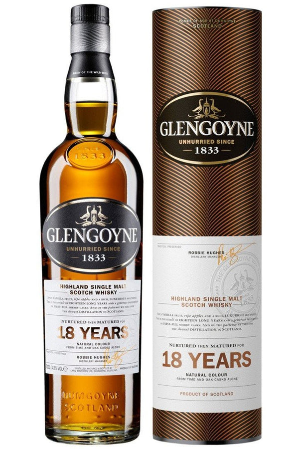 Glengoyne 18yr Old Single Malt Whisky