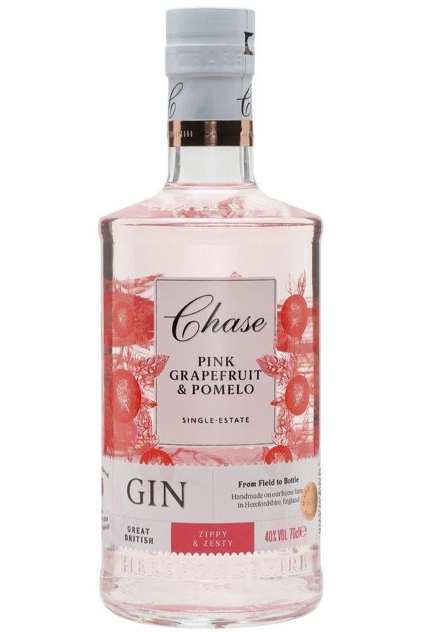Chase Pink Grapefruit & Pomelo Gin 70cl - Cheers Wine Merchants
