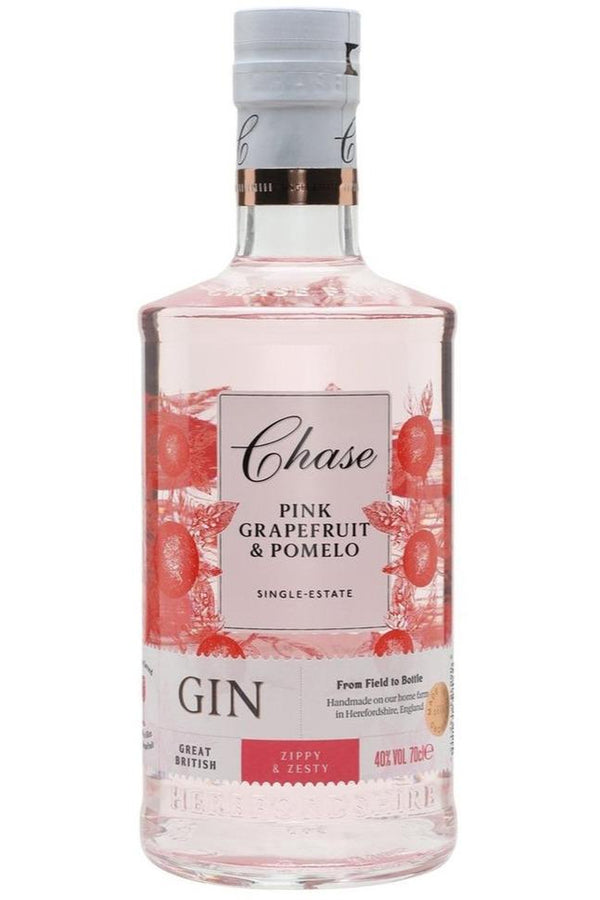 Chase Pink Grapefruit & Pomelo Gin 50cl - Cheers Wine Merchants