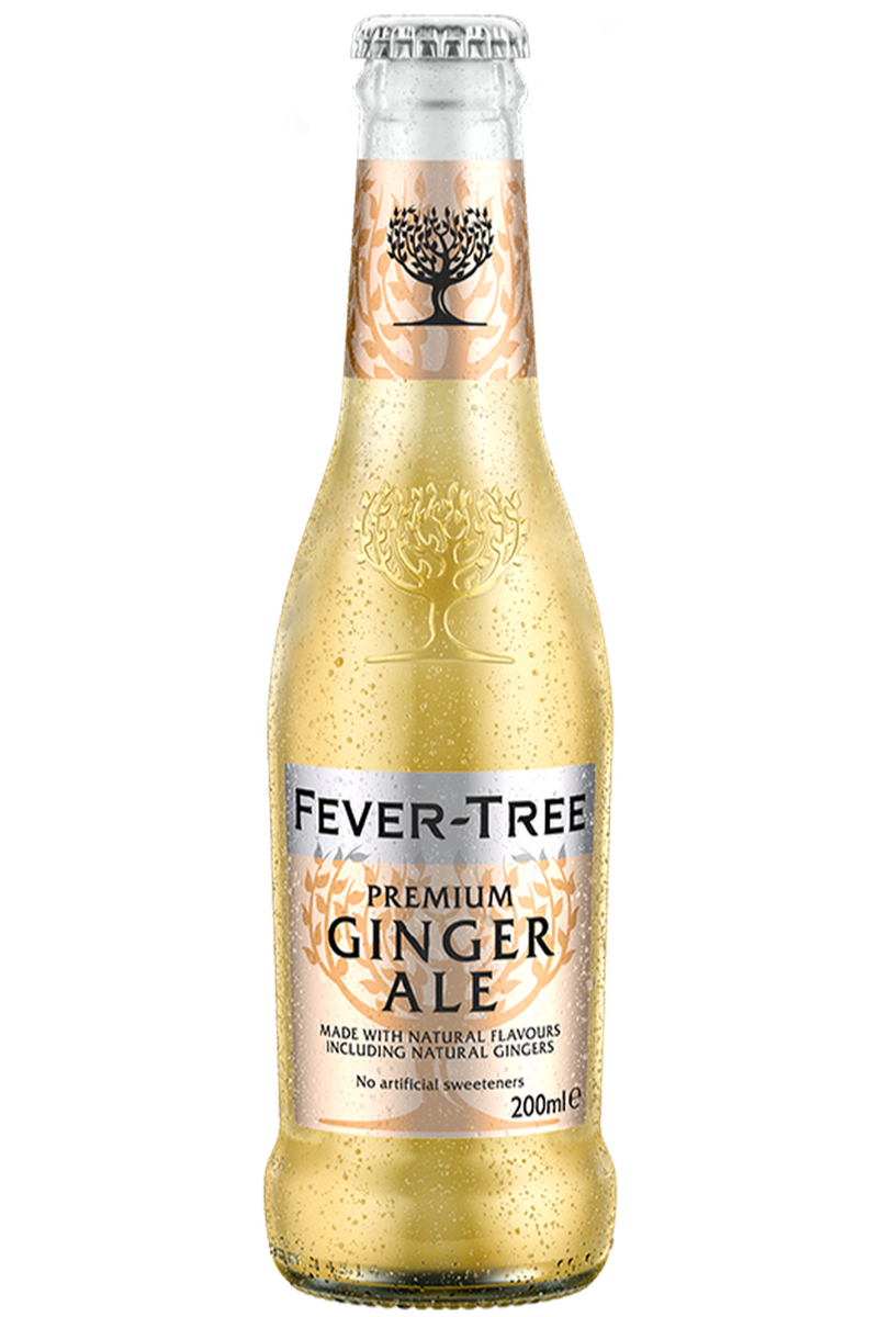 Fever Tree Ginger Ale 200ml - Cheers Wine Merchants