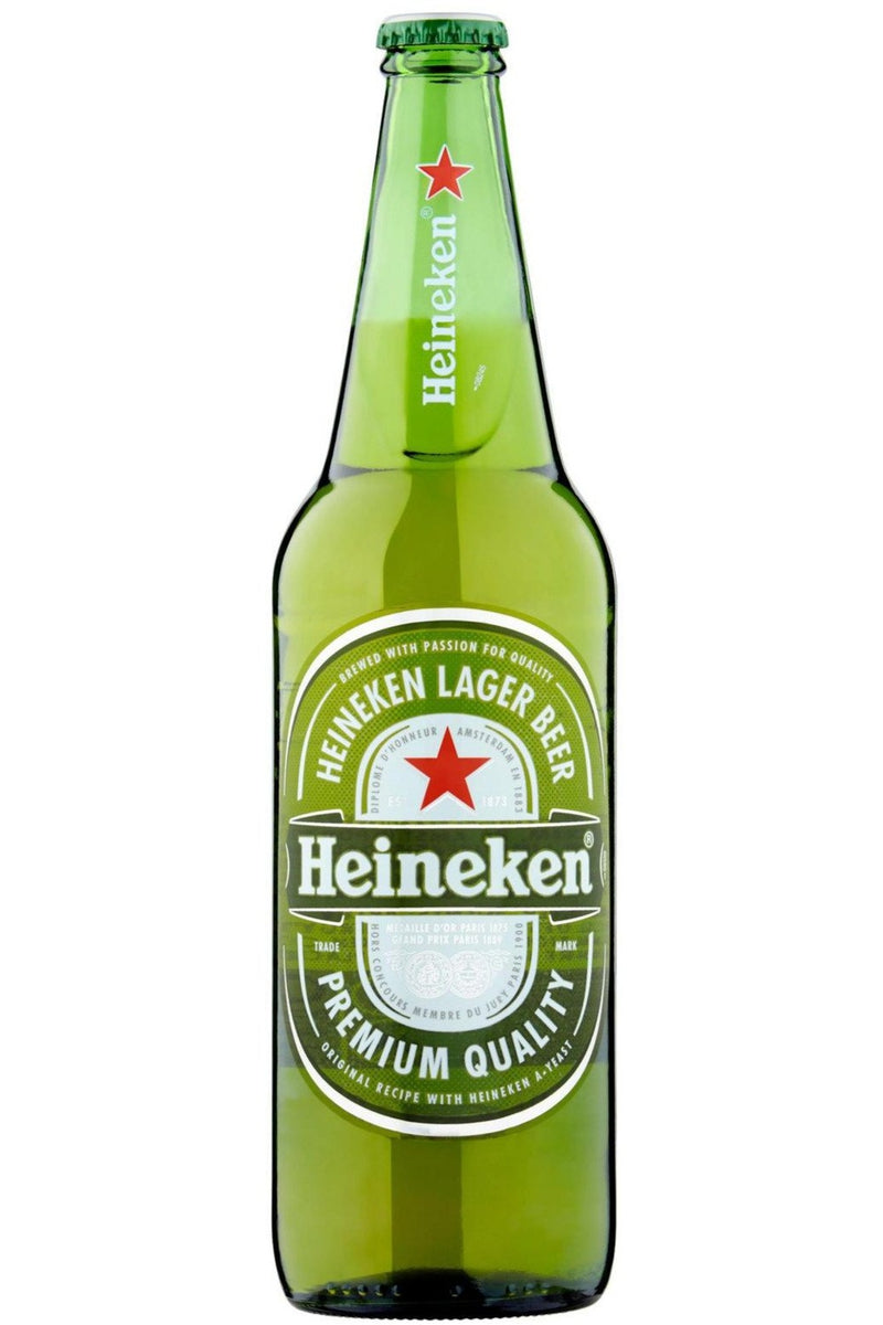 Heineken Lager 650ml - Cheers Wine Merchants