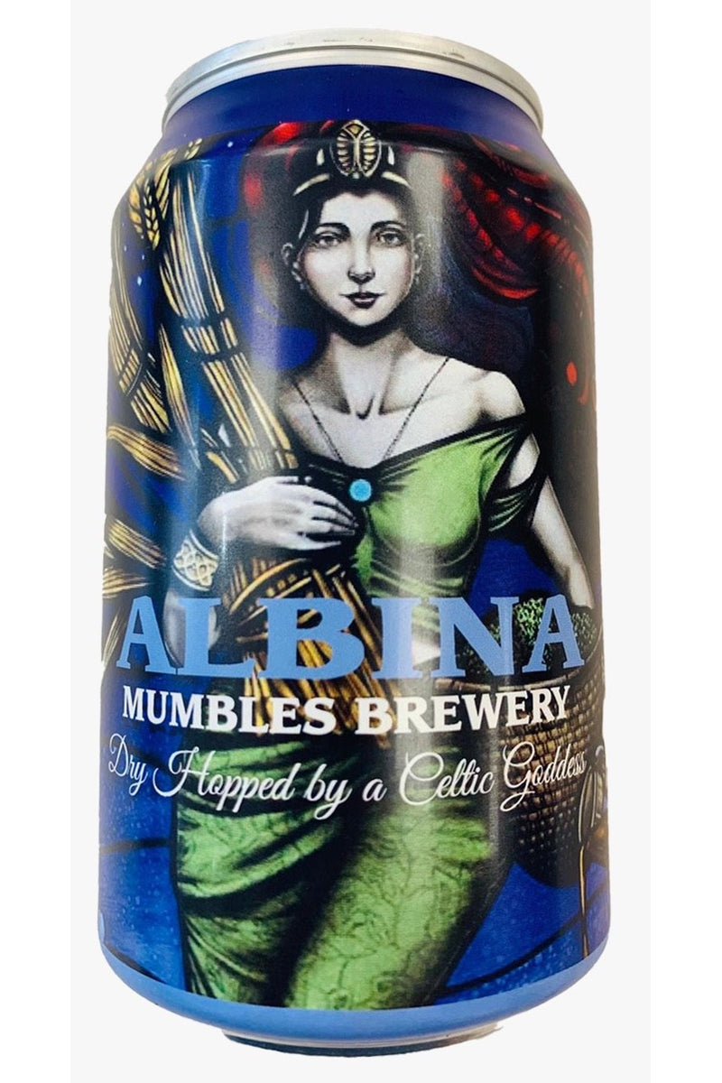 Mumbles Brewery Albina New World Pale - Cheers Wine Merchants