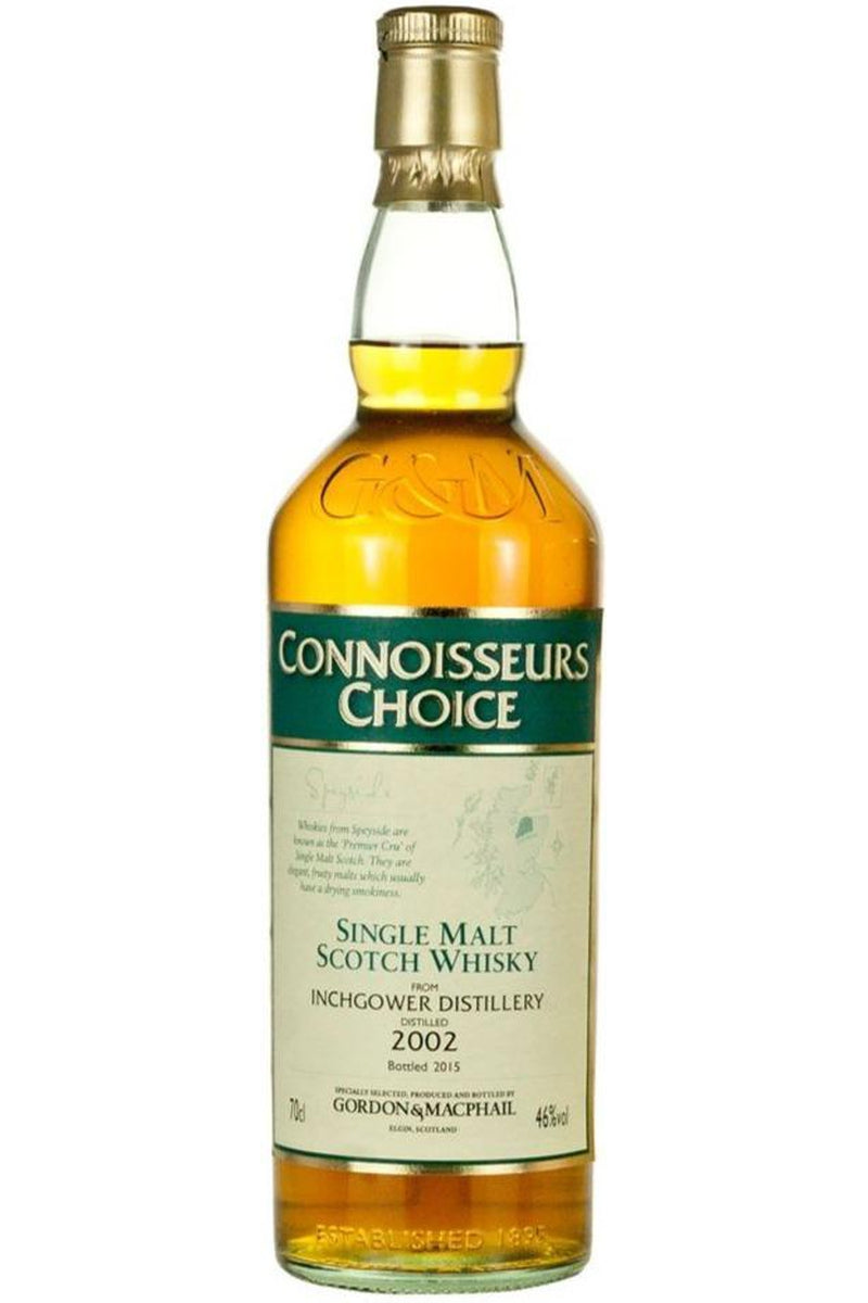 Inchgower 2002 Connoisseurs Choice,  Gordon & MacPhail - Cheers Wine Merchants
