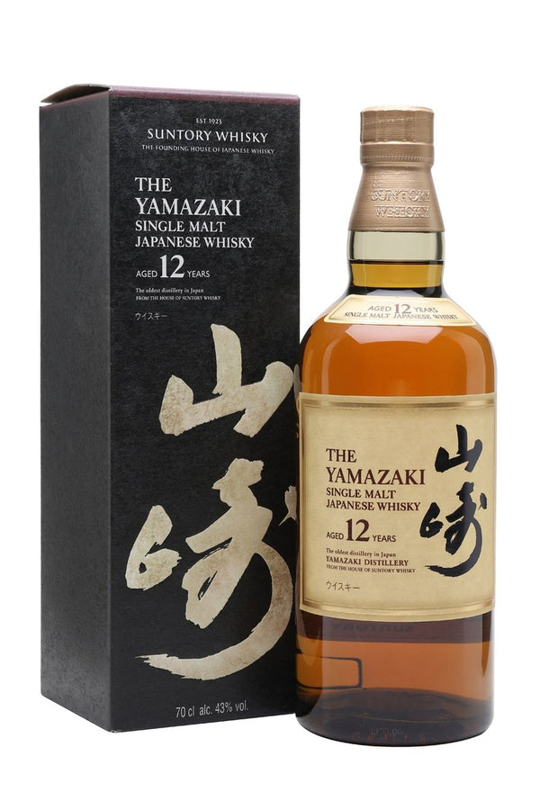 Suntory Yamazaki 12 Year Old Single Malt - Cheers Wine Merchants