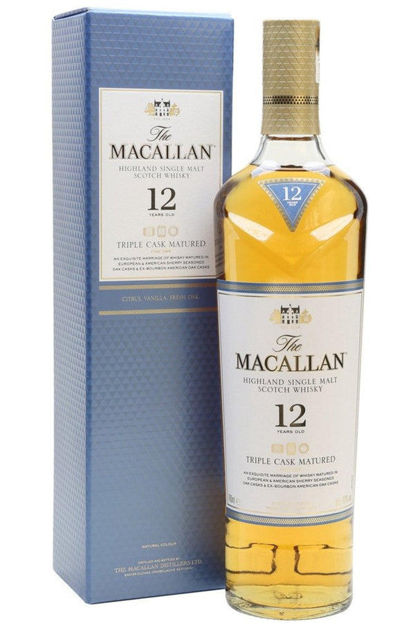 Macallan 12 year Old Double Cask Malt Whisky