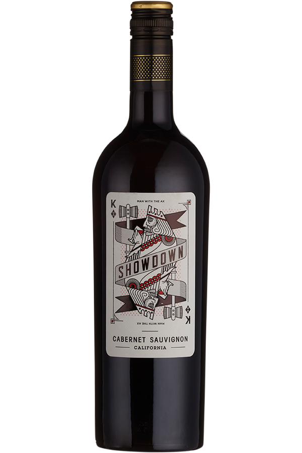 Showdown Man With an Ax Cabernet Sauvignon - Cheers Wine Merchants
