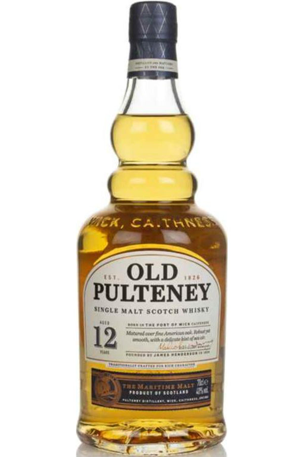 Old Pulteney 12 Year Old - Cheers Wine Merchants
