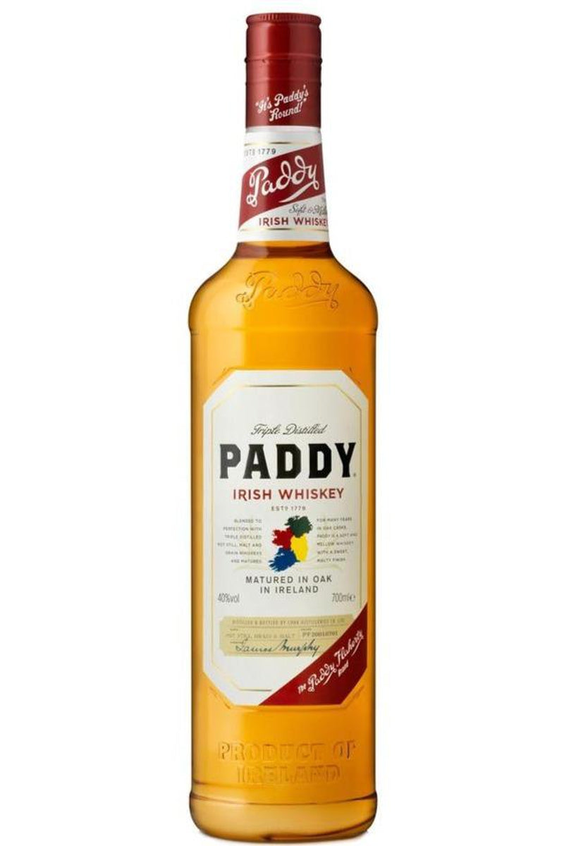Paddy Irish Whiskey - Cheers Wine Merchants